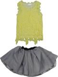 Art of Silver Girls Casual Top Skirt (Ye...