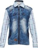 OKS Boys Boys Casual T-shirt Jeans (Blue...