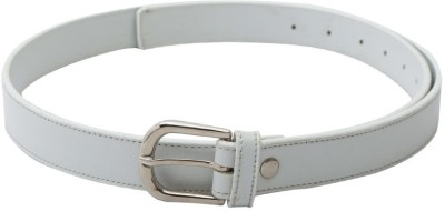 SkyWays Women Casual, Formal White Artificial Leather Belt