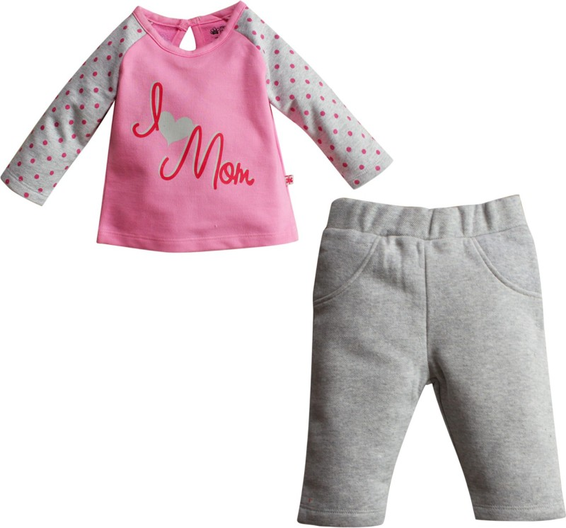 FS Mini Klub Top & Bottom Set T-shirt Baby Girls  Combo