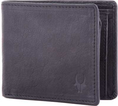 WildHorn Men Casual, Formal Black Genuine Leather Wallet