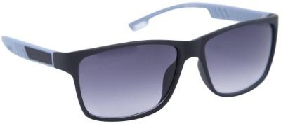 Gansta Gansta GN-1017 wrap around Grey sporty sunglass Sports Sunglasses(Grey)