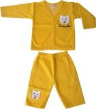 Harsha Boys T-shirt Trouser (Yellow)