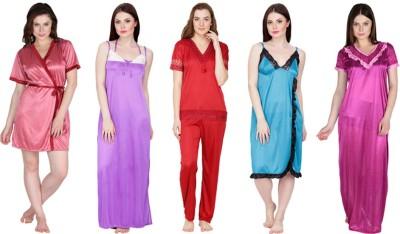 Secretwish Robe Women's  Combo