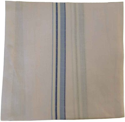Sondagar Arts Plain White Handkercheif Handkerchief