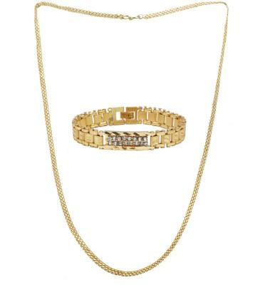 Sondagar Arts Brass Yellow Gold Bracelet