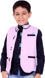 OKS Boys Boys Casual Shirt Jacket (Pink)