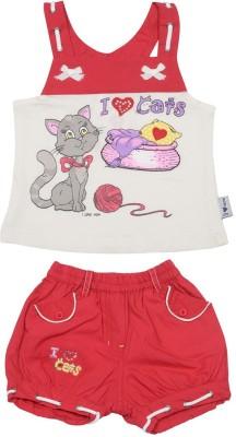 I Love Mom T-shirt Baby Girl's  Combo