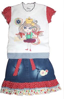 Mankoose Skirt Girl's  Combo
