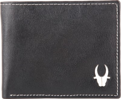 WildHorn Men Casual, Formal Black Genuine Leather Wallet
