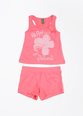 United Colors of Benetton Girl's  Combo