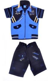 Good Boy Boys T-shirt(Blue)