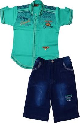 Color Kids T-shirt Boy's  Combo