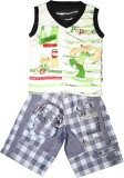 Littlelife Boys Casual T-shirt Pant (Gre...