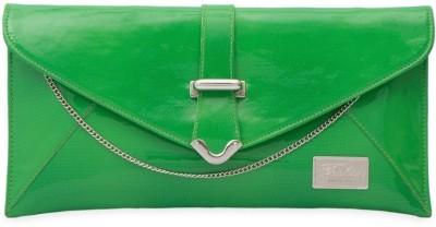 SkyWays Women Casual, Evening/Party Green PU Sling Bag
