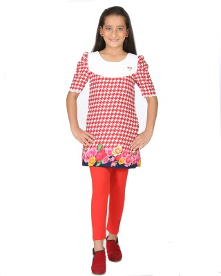 Peppermint Tunic Girl's  Combo