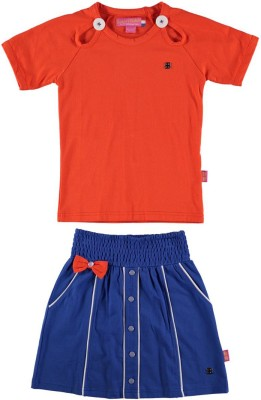 Bakery Babes Skirt Girl's  Combo