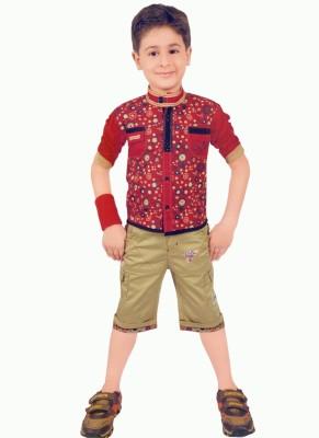 Hey Baby T-shirt Baby Boy's  Combo