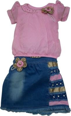 Shree Ram Creation T-shirt Baby Girl's  Combo