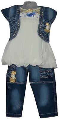 Gungun Fashion Dress Girl's  Combo
