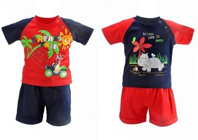 Chocoberry T-shirt Baby Boy's  Combo