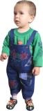 Ahhaaaa Boys Dungaree T-shirt (Green)