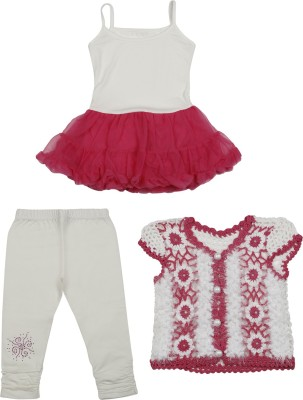 Buds N Blossoms Shrug Baby Girl's  Combo