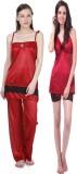Claura Night Suit Women's  Combo