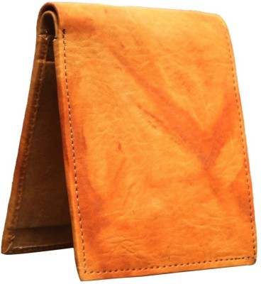 Bacchus Men Tan Artificial Leather Wallet