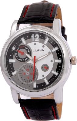 Leana Lw543 Round Analog Watch  - For Men