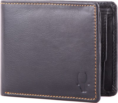 WildHorn Men, Women Casual, Formal Black Genuine Leather Wallet