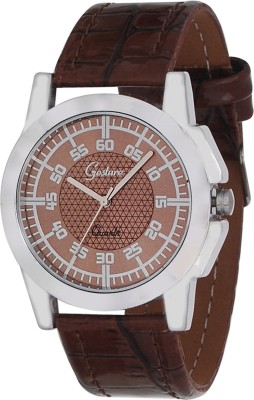 Gesture Gesture 5031-BR Men's Watch Modest Analog Watch  - For Men