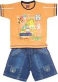 Mankoose Boys Casual T-shirt Shorts (Ora...
