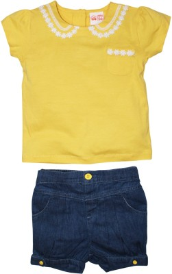 FS Mini Klub T-shirt Baby Girls  Combo