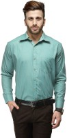 Koolpals Formal Shirts (Men's) - Koolpals Men's Checkered Formal Green Shirt