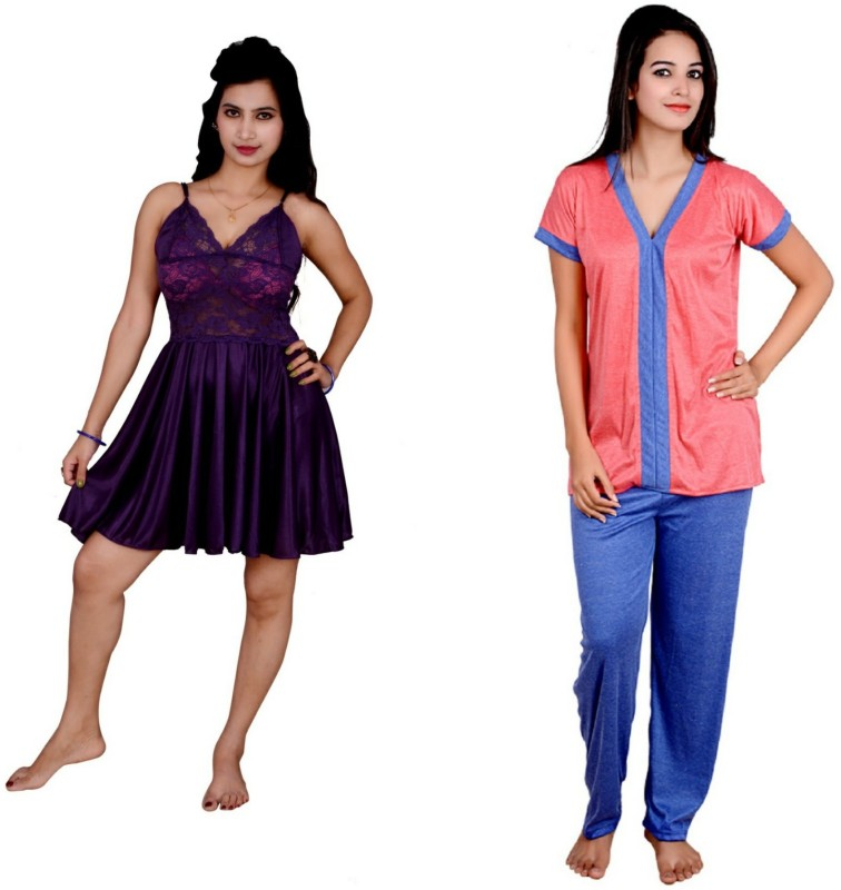Kismat Fashion Babydoll Women's  Combo