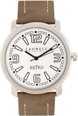 Laurels Lo-Retro-101 Retro Analog Watch  - For Men