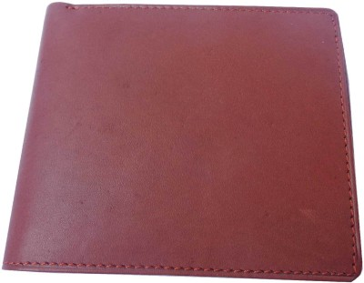 Good Life Stuff Men Formal Brown Genuine Leather Wallet(7 Card Slots)