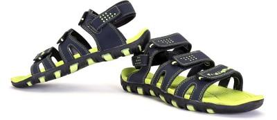 Elligator Men Green Sandals