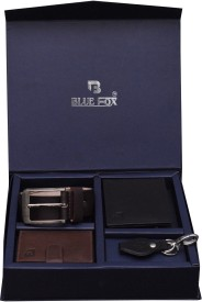 BLUE FOX Wallet Men's Combo