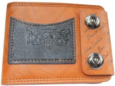 RZ World Men, Boys Brown Genuine Leather Wallet