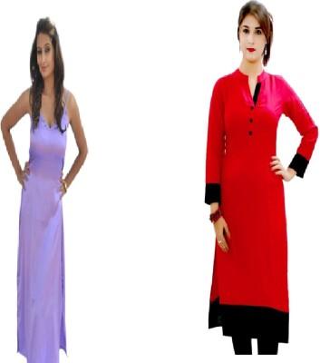 Look-N-Like Kurti Women,s  Combo
