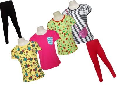 Little Stars T-shirt Girls  Combo