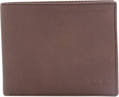 Gansta Men Casual, Formal Brown Artificial Leather Wallet