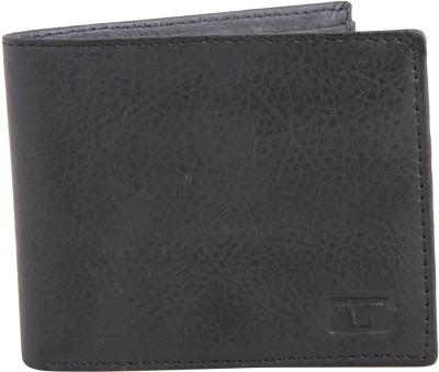 Gansta Men, Women Black Artificial Leather Wallet