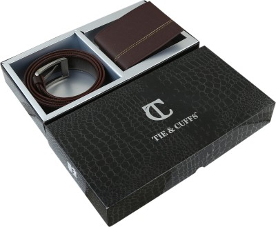 TIE & CUFFS Belt Men's  Combo