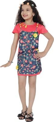 Be Kids Girl's Sheath Red Dress