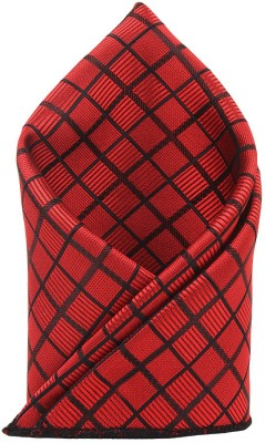 Eccellente Checkered Micro Polyester Pocket Square