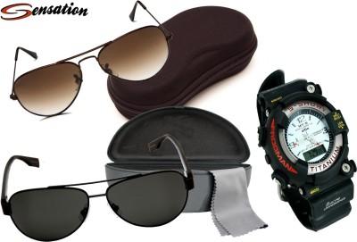 Sensation Sunglass Men's  Combo