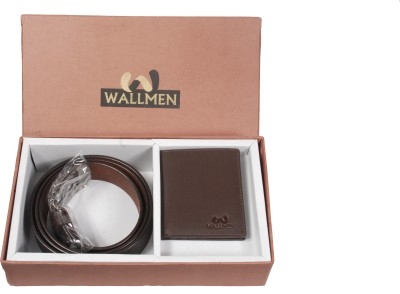 Wallmen Belt Men's  Combo